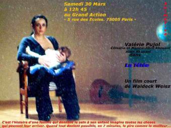 La tétée - affiche du film